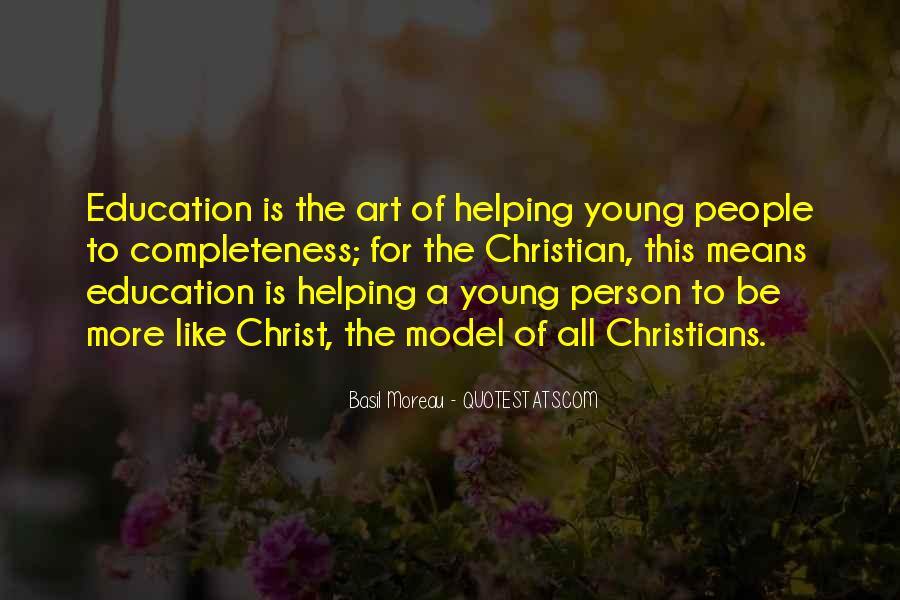 Quotes About Education And Helping Others #868461