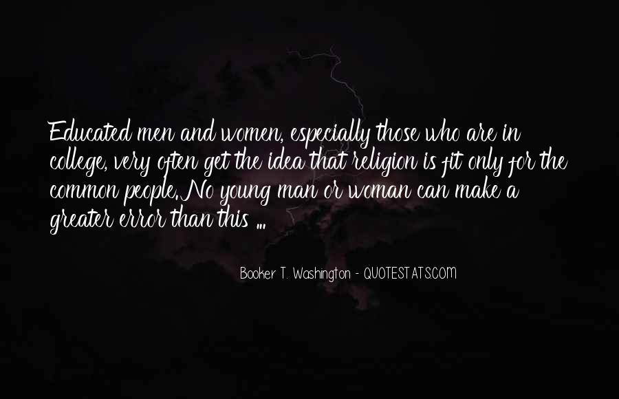 Quotes About Educated People #108582