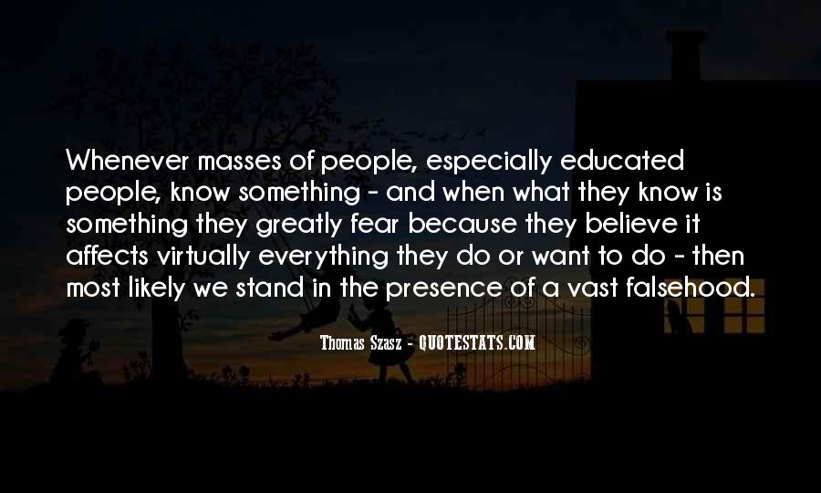 Quotes About Educated People #242722