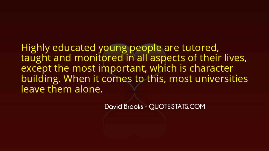 Quotes About Educated People #278071