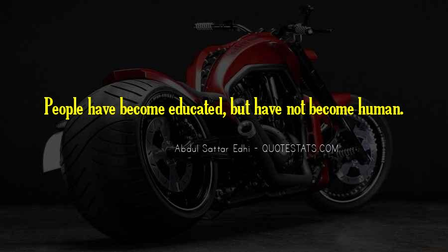 Quotes About Educated People #39991