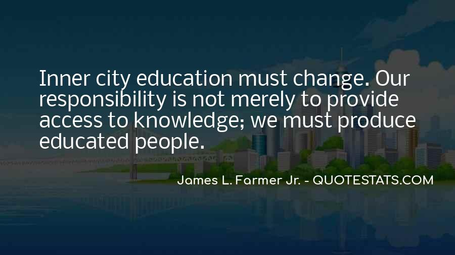 Quotes About Educated People #405636