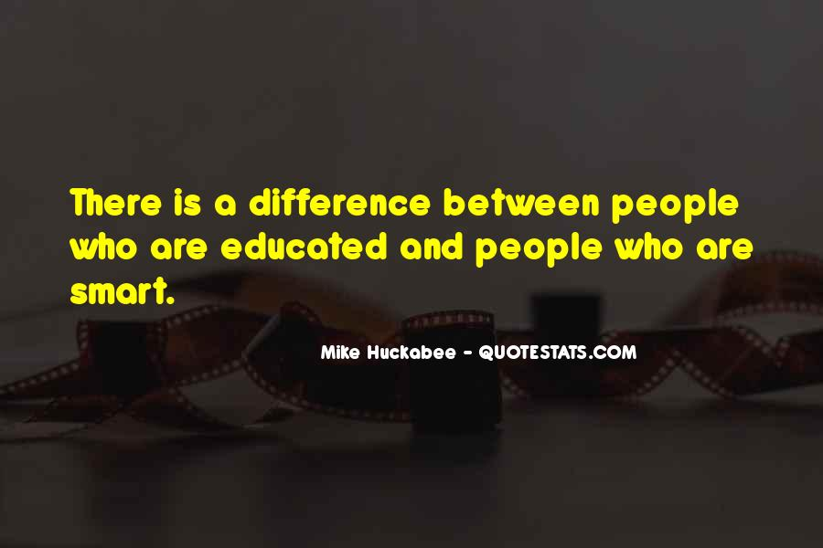 Quotes About Educated People #42387