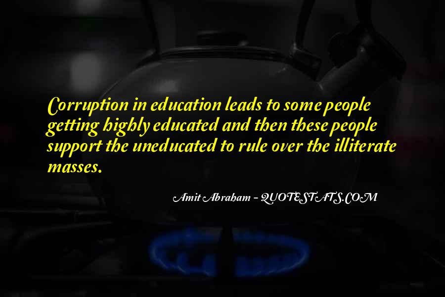 Quotes About Educated People #461375