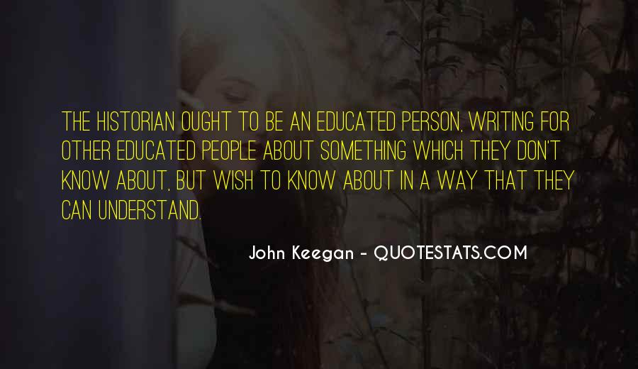 Quotes About Educated People #482761