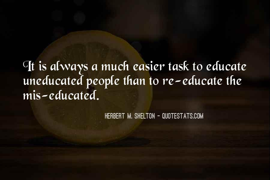 Quotes About Educated People #602274