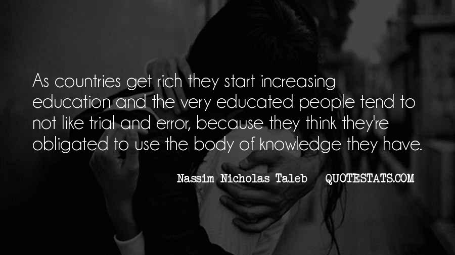 Quotes About Educated People #74510