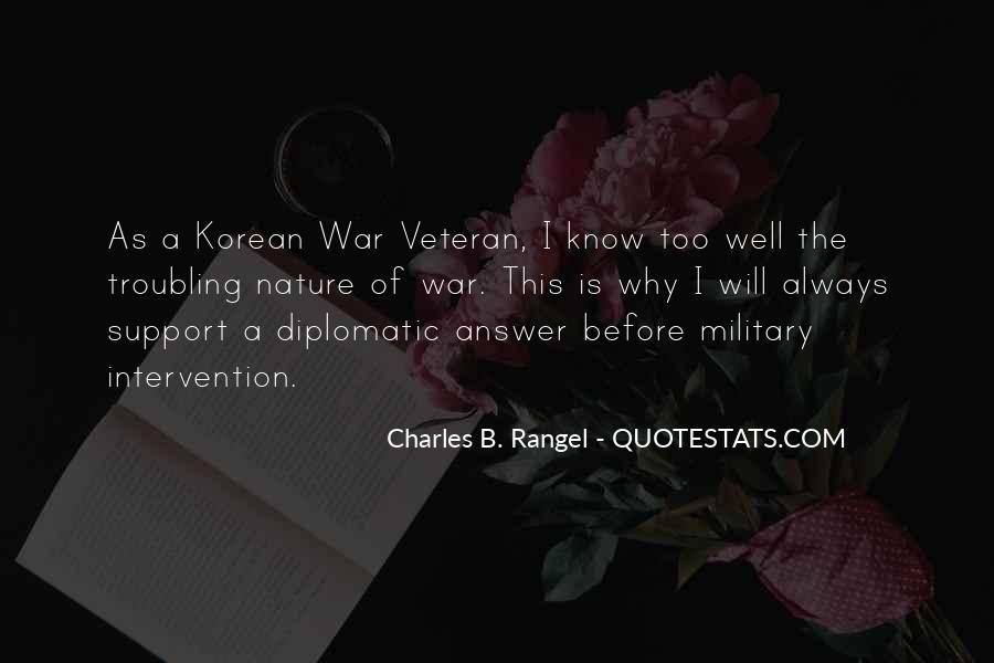 Korean War Military Quotes #252420