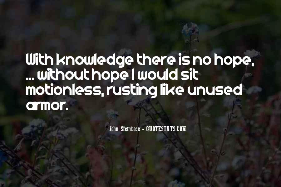 Quotes About Unused Knowledge #103264