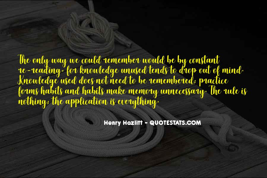 Quotes About Unused Knowledge #1469247