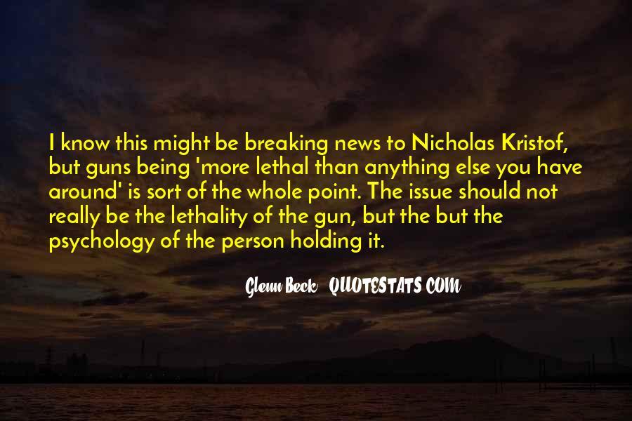 Kristof Quotes #175315