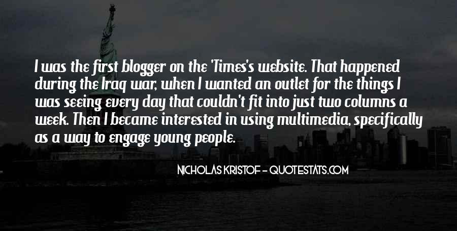 Kristof Quotes #292204