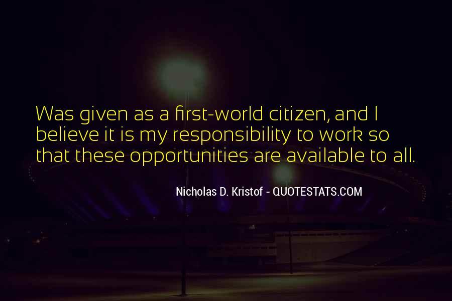 Kristof Quotes #435695
