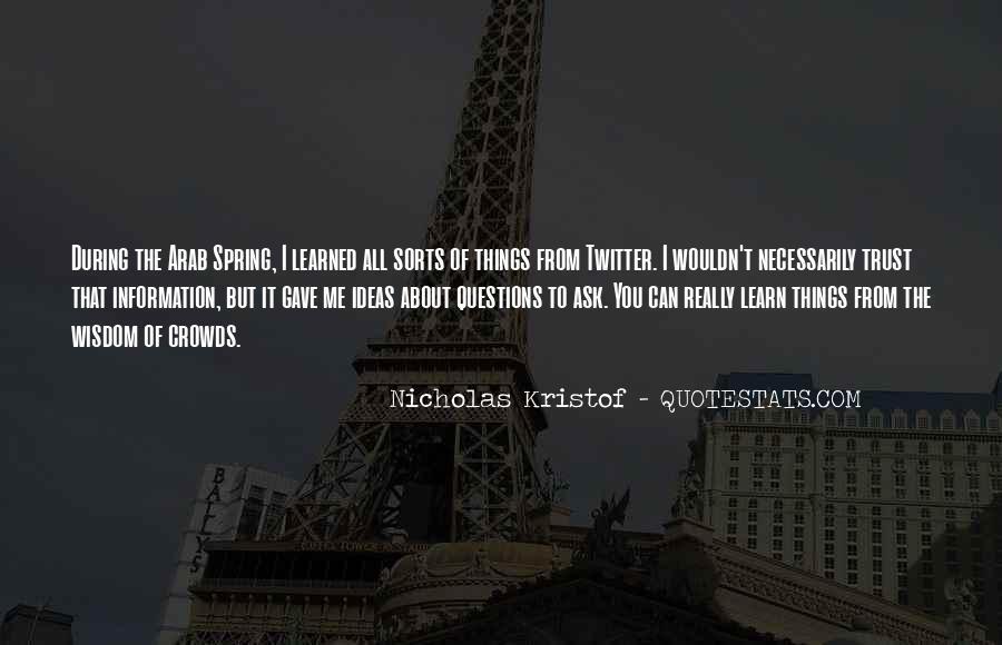 Kristof Quotes #447612