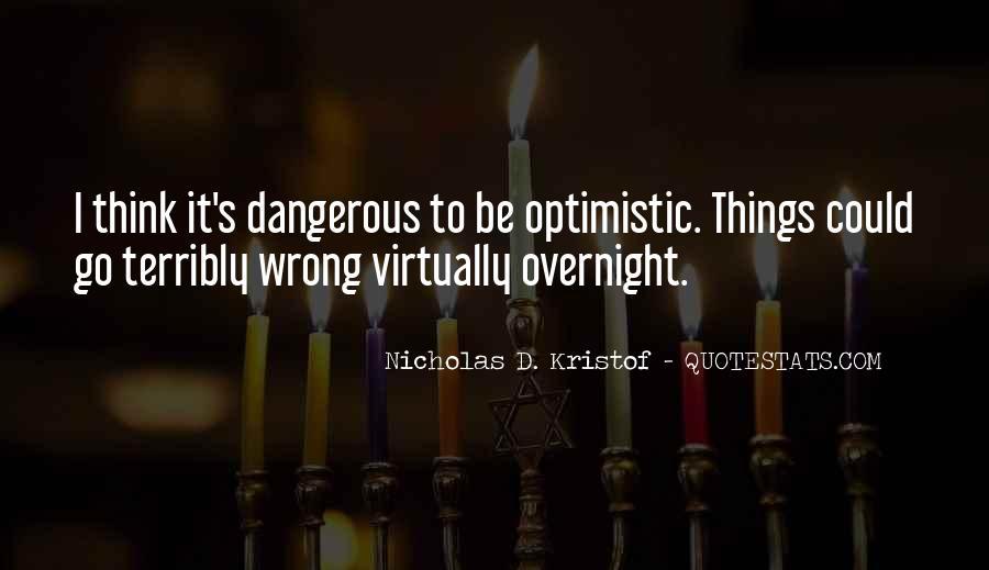 Kristof Quotes #558178