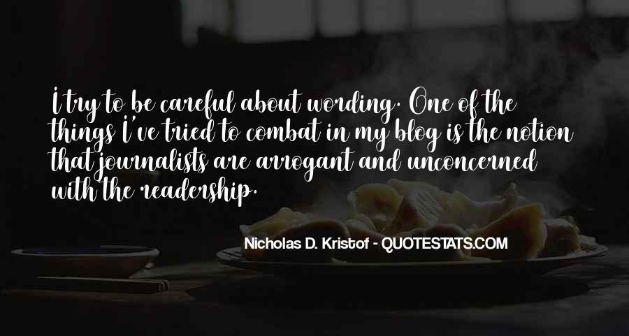 Kristof Quotes #565530
