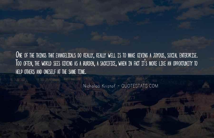 Kristof Quotes #642048