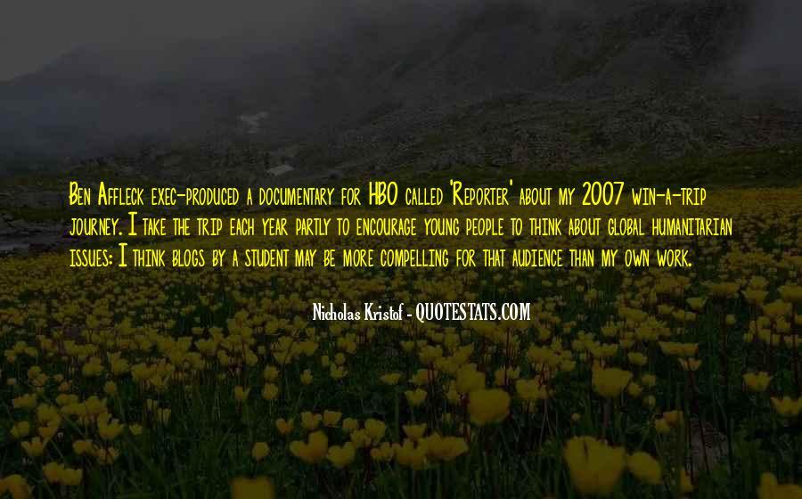 Kristof Quotes #658043