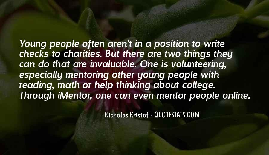 Kristof Quotes #704750