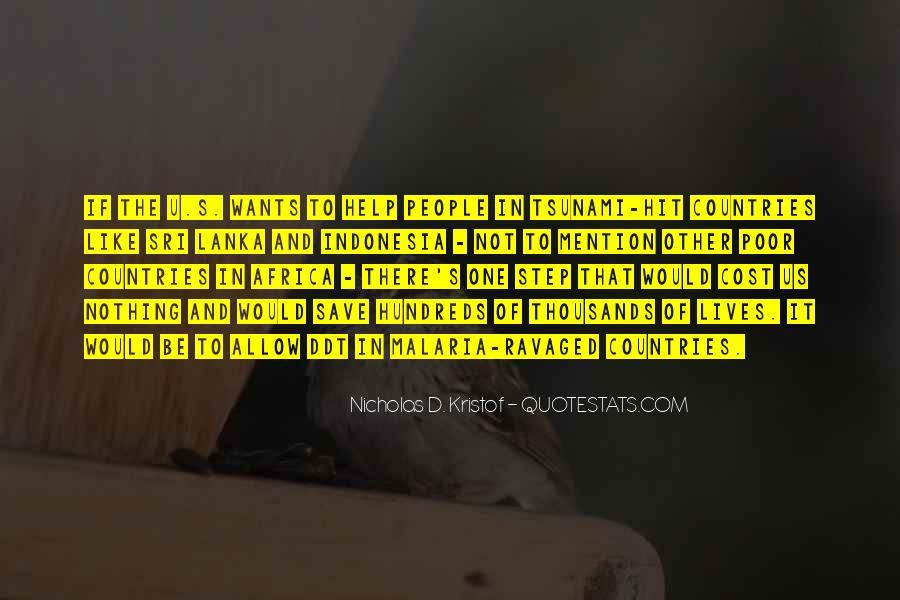 Kristof Quotes #900267