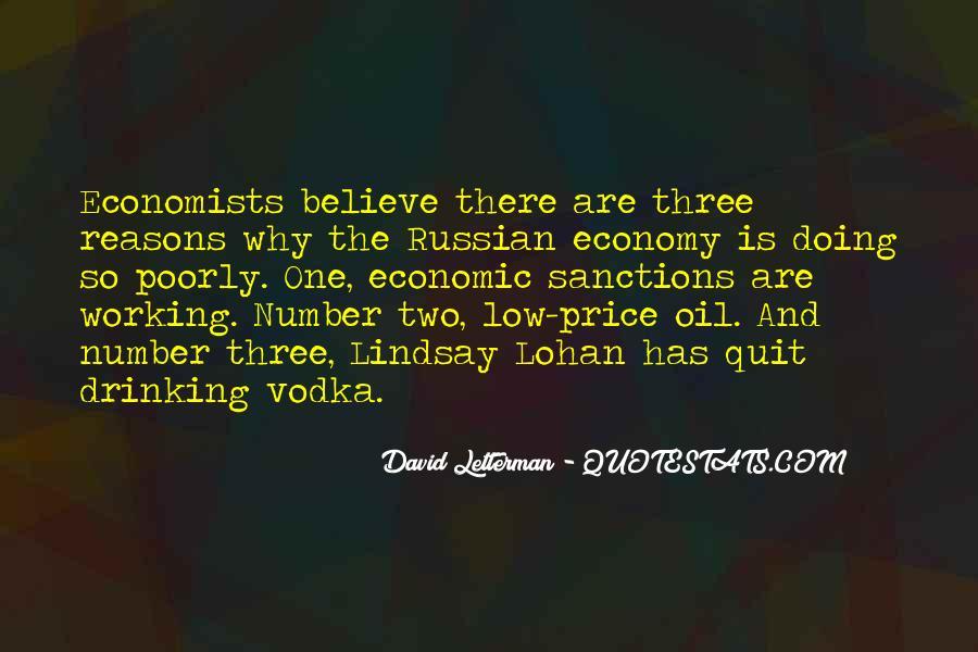 Quotes About Economic Sanctions #1518434