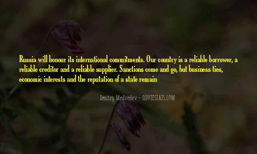 Quotes About Economic Sanctions #1740202