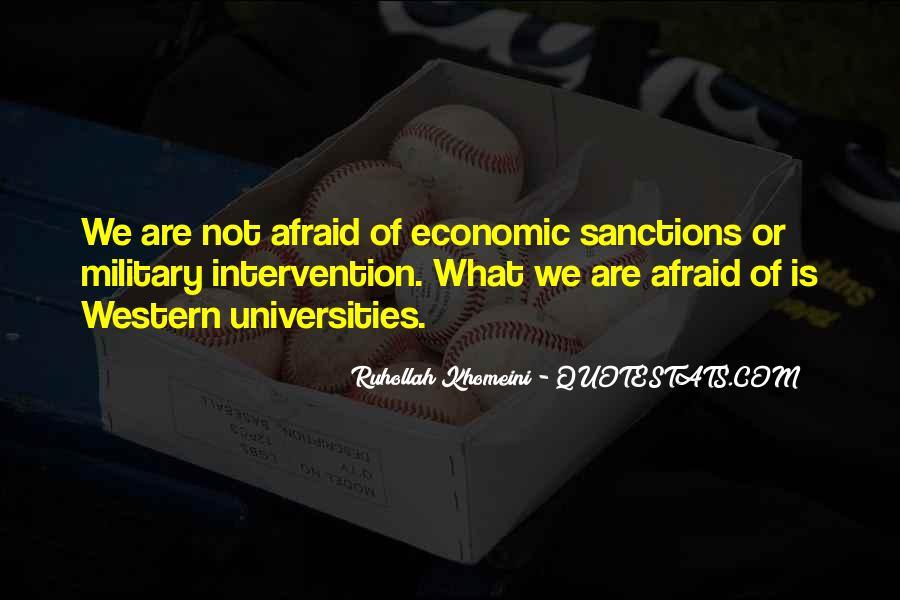 Quotes About Economic Sanctions #1862642