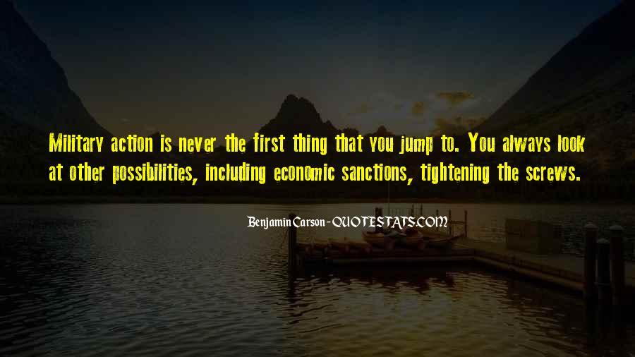 Quotes About Economic Sanctions #404348