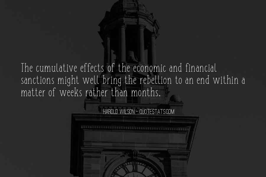 Quotes About Economic Sanctions #406483