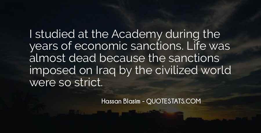 Quotes About Economic Sanctions #872983