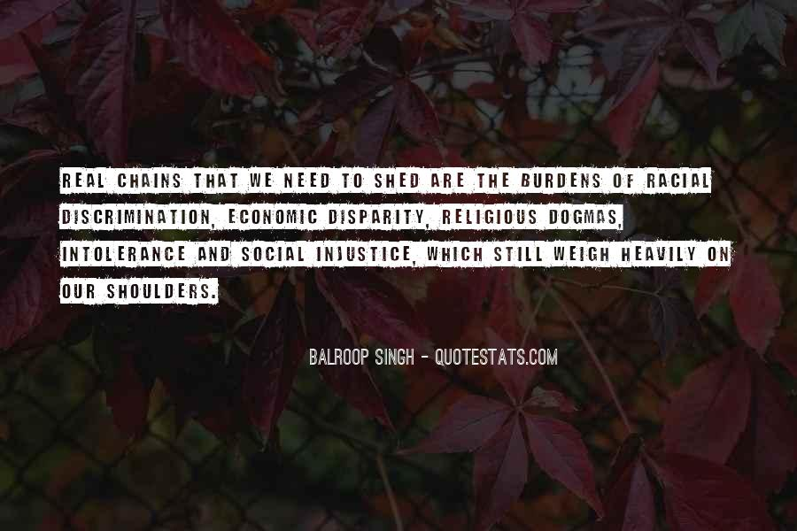 Quotes About Economic Disparity #1831677