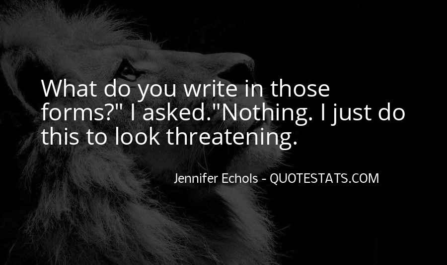 Quotes About Echols #200419
