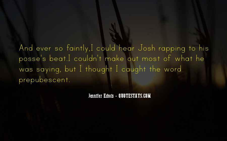 Quotes About Echols #388786