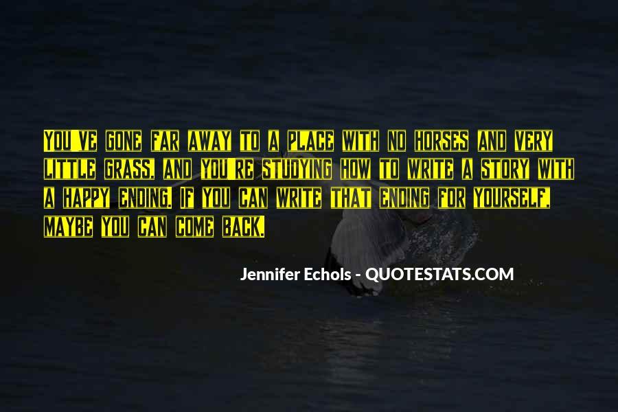 Quotes About Echols #94712