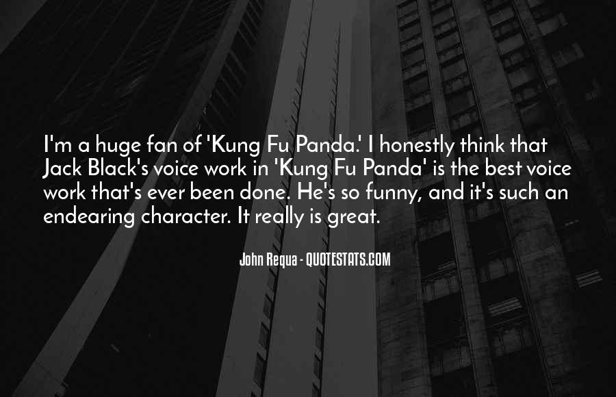 Kung Fu Panda 2 Funny Quotes #1517650