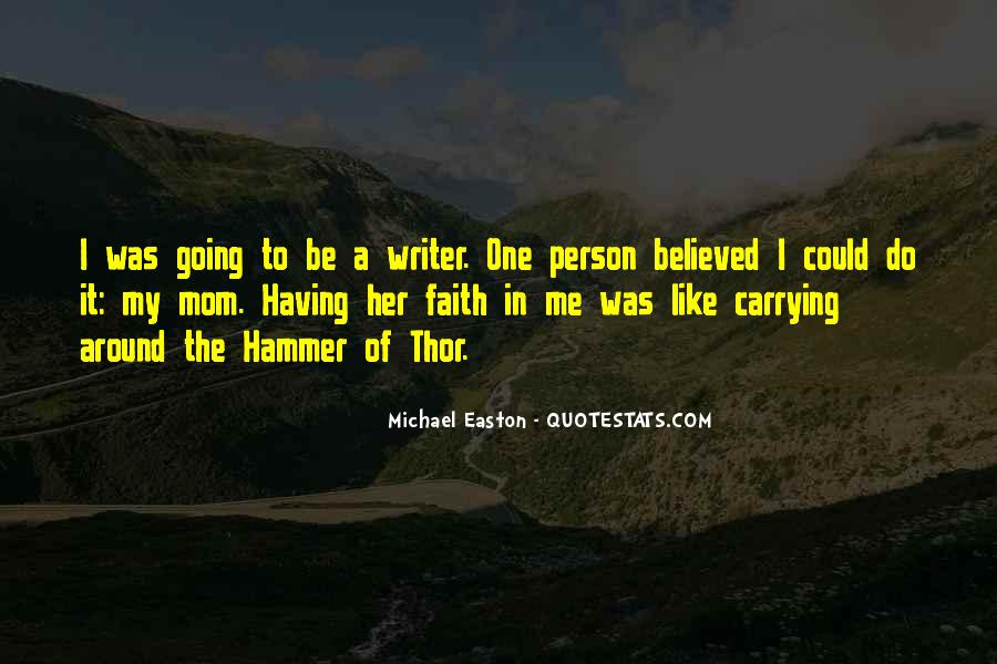 Quotes About Easton #159796