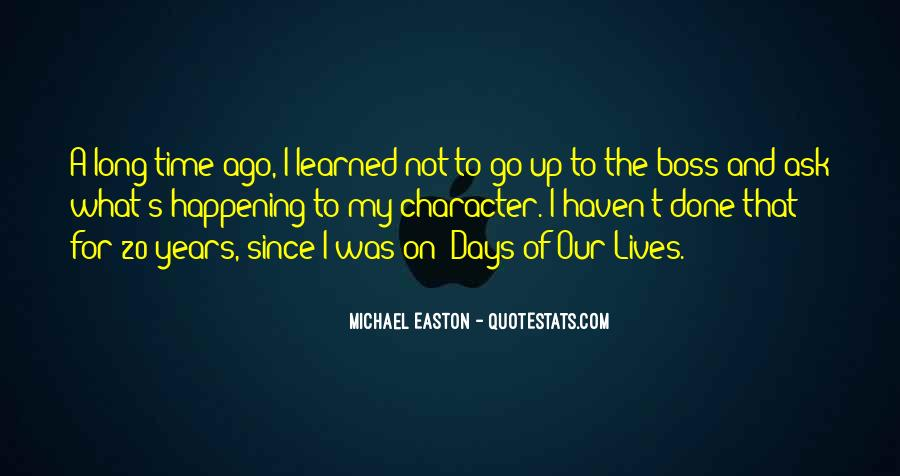 Quotes About Easton #229988