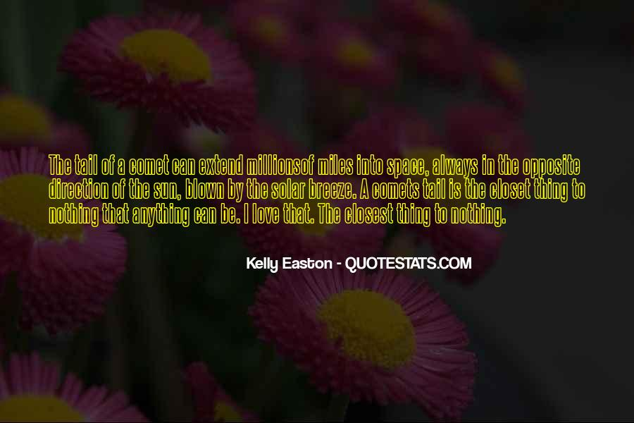 Quotes About Easton #251606