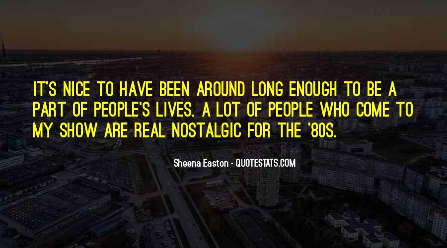 Quotes About Easton #274058