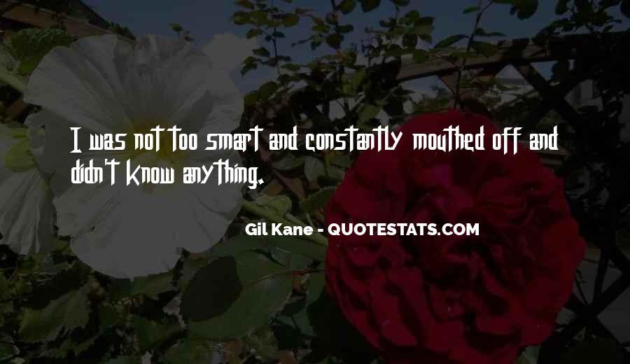 Kyo Mibu Quotes #1362633
