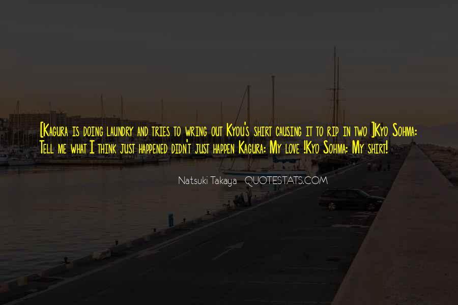 Kyo Sohma Quotes #628564