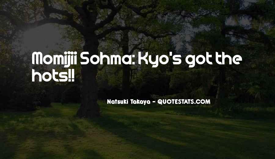 Kyo Sohma Quotes #741865