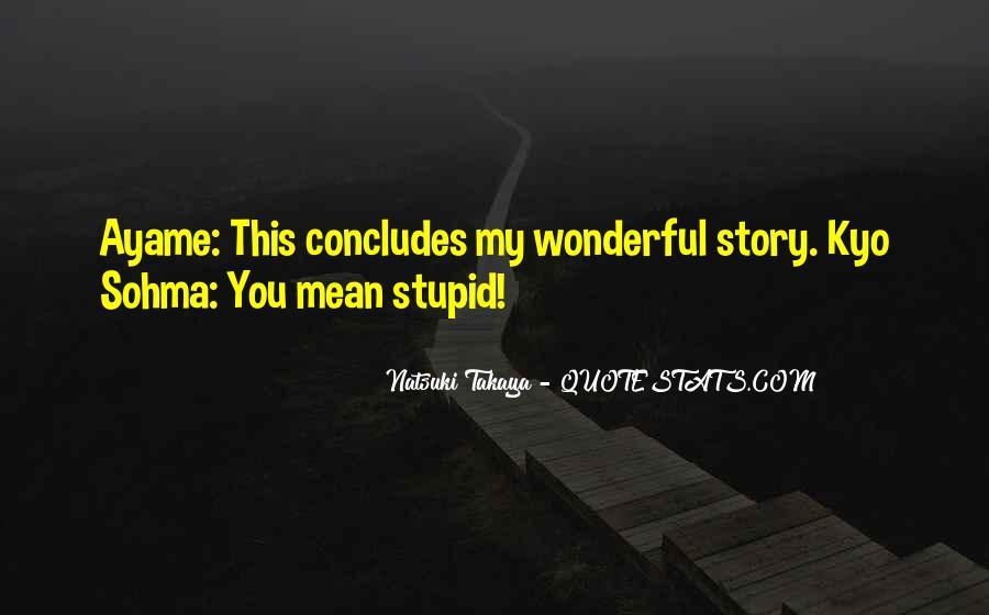 Kyo Sohma Quotes #865326