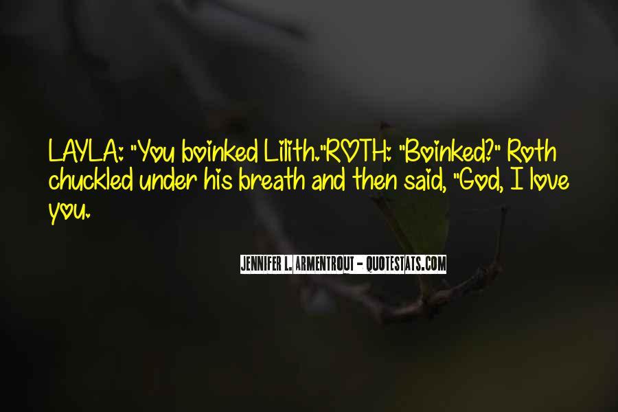 L Love God Quotes #1185454