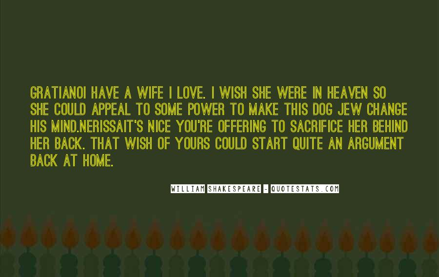 L Love My Wife Quotes #26120