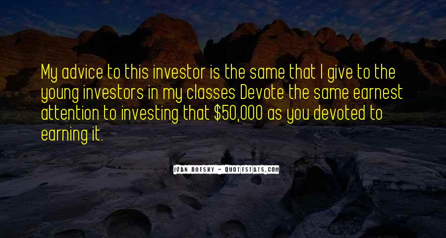Quotes About Earning What You Get #19630