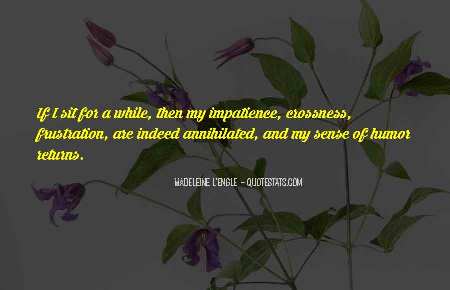 L'impatience Quotes #1702255