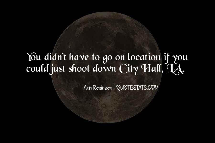 La City Quotes #1601278