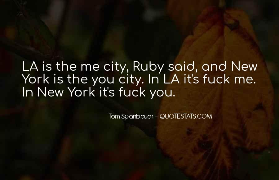 La City Quotes #664760