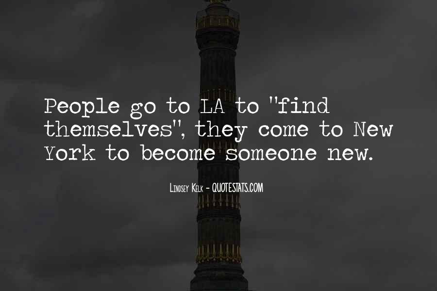 La City Quotes #821680